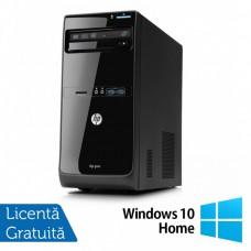 Calculator HP Pro 3500 Tower, Intel Pentium G2030 3.00GHz, 4GB DDR3, 250GB SATA, DVD-RW + Windows 10 Home