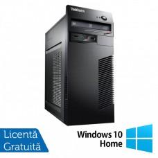 Calculator Lenovo M79 Tower, AMD A4 PRO-7300B 3.80GHz, 4GB DDR3, 250GB SATA, DVD-RW + Windows 10 Home