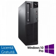 Calculator Lenovo Thinkcentre M83 SFF, Intel Pentium G3220 3.00GHz, 4GB DDR3, 500GB SATA + Windows 10 Pro
