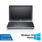Laptop DELL Latitude E6420, Intel Core i5-2520M 2.50GHz, 4GB DDR3, 120GB SSD, DVD-RW, 14 Inch HD+, Webcam + Windows 10 Home