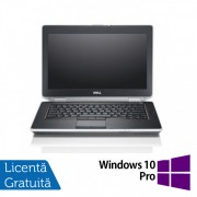 Laptop DELL Latitude E6420, Intel Core i5-2520M 2.50GHz, 4GB DDR3, 120GB SSD, DVD-RW, 14 Inch HD+, Webcam + Windows 10 Pro