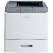 Imprimanta laser monocrom Lexmark T652DN, USB, Retea, Duplex, 48 ppm, Cuptor si Cartus Remanufacturat
