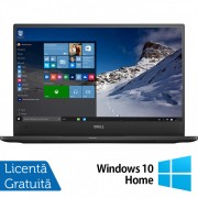 Laptop DELL Latitude 7370, Intel Core M7-6Y75 1.20-3.10GHz, 8GB DDR3, 240GB SSD, 13.3 Inch Full HD, Webcam + Windows 10 Home
