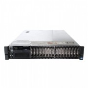 Server Dell PowerEdge R720, 2x Intel Xeon Hexa Core E5-2640 2.50GHz - 3.00GHz, 192GB DDR3 ECC, 2 x 900GB HDD SAS/10K + 8 x 1.2TB SAS/10k, Raid Perc H710 mini, Idrac 7, 2 surse HS