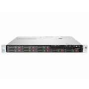 Server HP ProLiant DL360e G8, 1U, 2x Intel Hexa Core Xeon E5-2430L V2 2.4 GHz-2.8GHz, 96GB DDR3 ECC Reg, 2x SSD 240GB SATA + 4x 900GB SAS/10k, Raid Controller HP SmartArray P420/1GB, iLO 4 Advanced, 2x Surse HOT SWAP