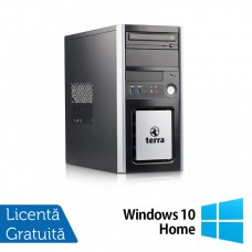 Calculator TERRA Tower, Intel Pentium G3220 3.00GHz, 4GB DDR3, 250GB SATA, DVD-ROM + Windows 10 Home