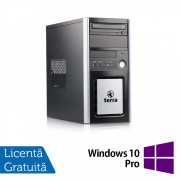 Calculator TERRA Tower, Intel Pentium G3220 3.00GHz, 4GB DDR3, 250GB SATA, DVD-ROM + Windows 10 Pro