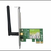 Placa de Retea TP-LINK Wireless, 1 antena detasabila, 150Mbps, 2.4GHz, TL-WN781ND, Low profile